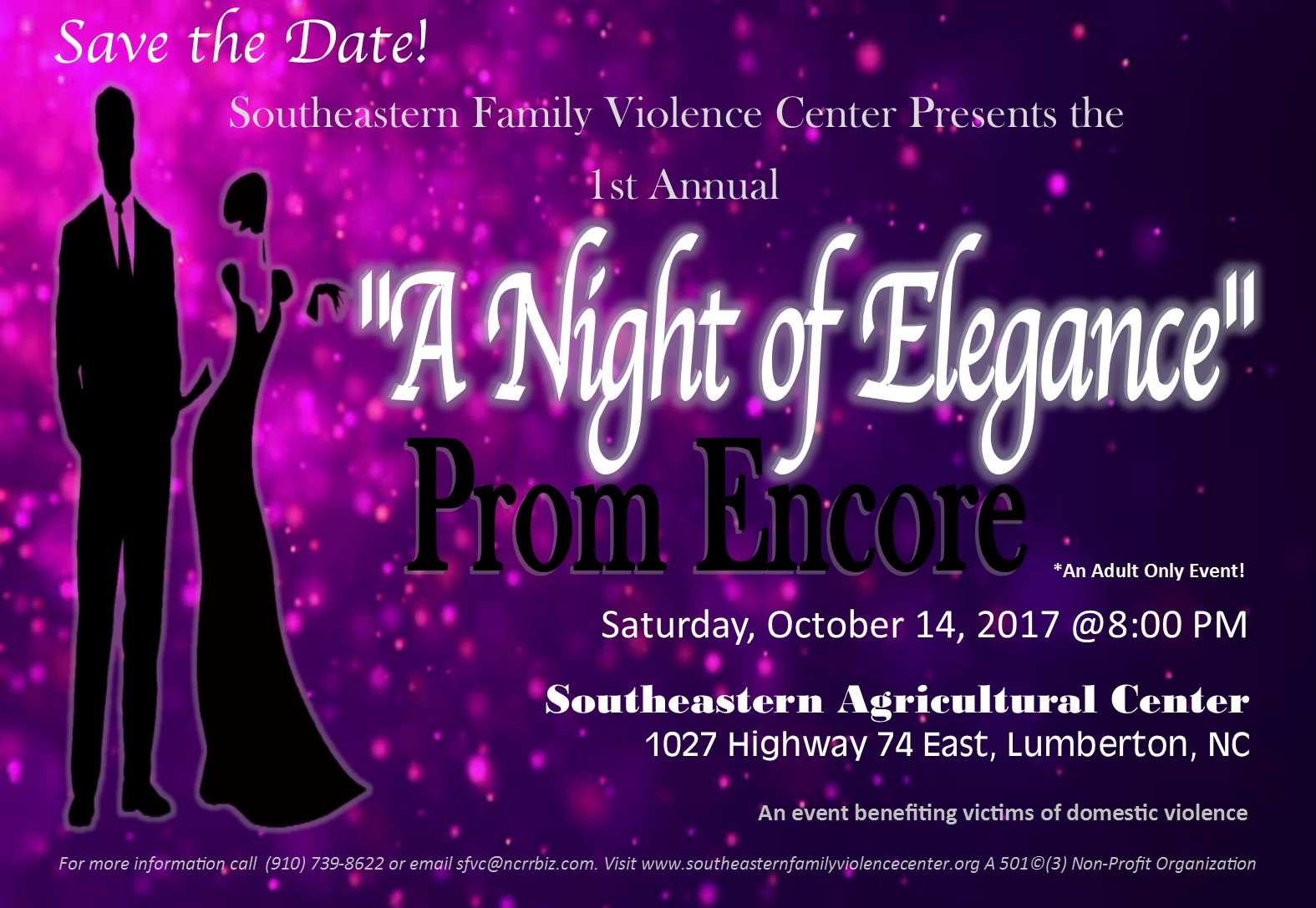Save the Date Prom 2017 2